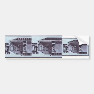 Giacomo Quarenghi- Design of the Hermitage Theater Bumper Stickers