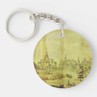 Giacomo Quarenghi- Kolomenskoye Single-Sided Round Acrylic Keychain