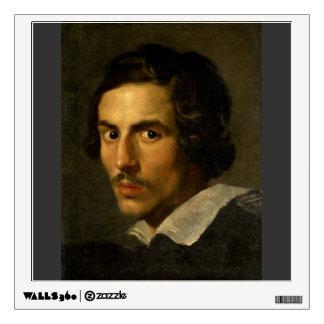 Gian Lorenzo Bernini- Self Portrait as a Young Man Wall Sticker