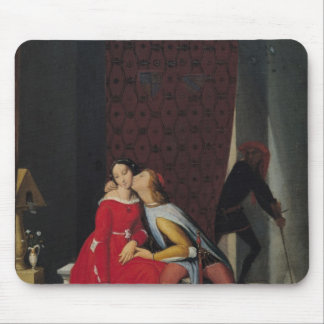 Gianciotto Discovers Paolo and Francesca, 1814 Mouse Pad