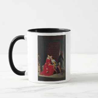 Gianciotto Discovers Paolo and Francesca, 1814 Mug