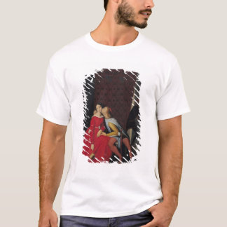 Gianciotto Discovers Paolo and Francesca, 1814 T-Shirt