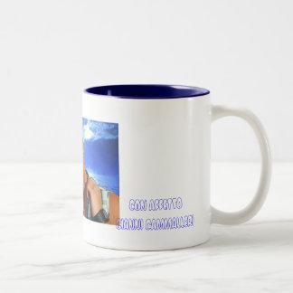 GIANNI CAMMALLERI Two-Tone COFFEE MUG