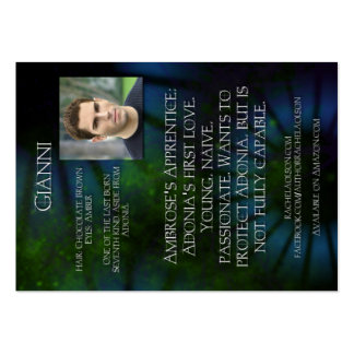 Gianni Character Trading Card - 7th Layer Large Business Card