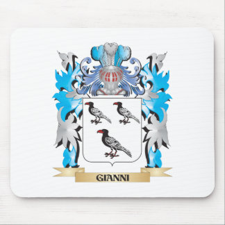 Gianni Coat of Arms - Family Crest Mouse Pad