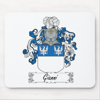 Gianni Family Crest Mouse Mat