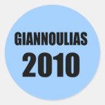 GIANNOULIAS 2010 PEGATINA