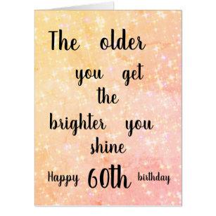 Giant 60th Birthday Card