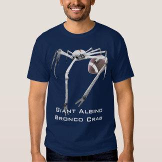 Giant Albino Bronco Crab II Tshirts
