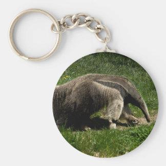 Giant Anteater Basic Round Button Keychain