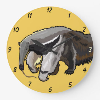 giant anteater large clock