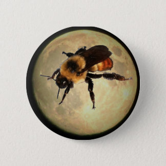 Giant Bee on the  Moon Button
