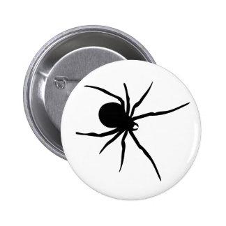 Giant Black Spider Button