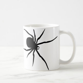 Giant Black Spider Classic White Coffee Mug