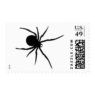 Giant Black Spider Postage