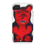 Giant Blood Sucking Candy Bear iPhone 4 Cover