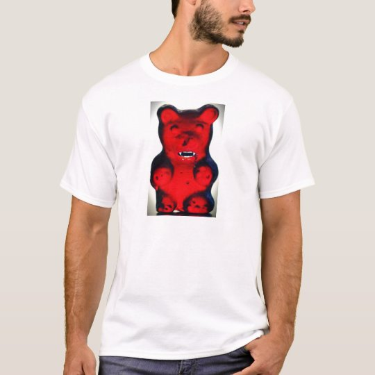Giant Blood Sucking Candy Bear T-Shirt