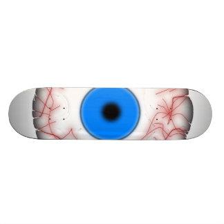 Giant Blue Eyeball Skateboard