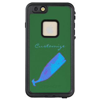 giant blue whale Thunder_Cove green LifeProof FRĒ iPhone 6/6s Plus Case