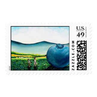 Giant Blueberry Stamp