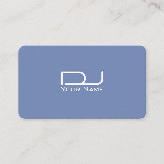 Giant Bold Logo Modern Futuristic Business Card Zazzle