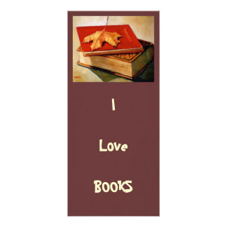 GIANT BOOKMARK: ART: BOOKS: LEAF RACK CARDS