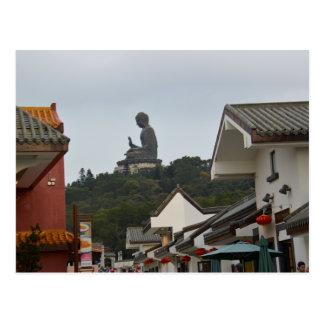 Giant Bronze Statue of Buddha Postcard