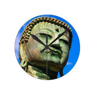 Giant Buddha Head Wall Clock