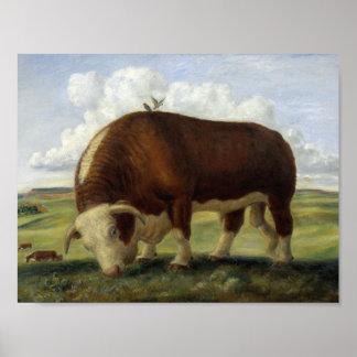 Giant Bull Poster