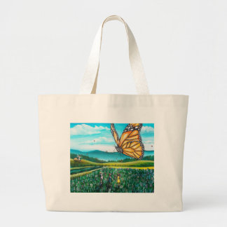 Giant Butterfly Tote Bags