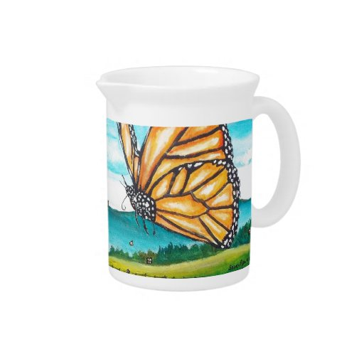 Giant Butterfly Beverage Pitcher