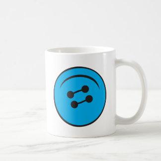 Giant Button Coffee Mug
