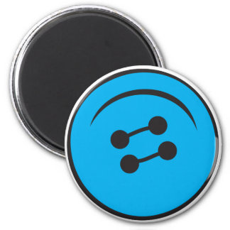 Giant Button Refrigerator Magnets