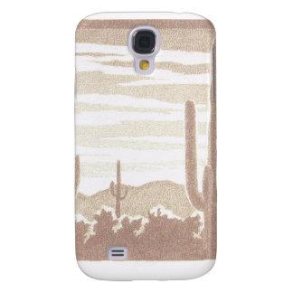 Giant Cactus Sunset Samsung Galaxy S4 Case