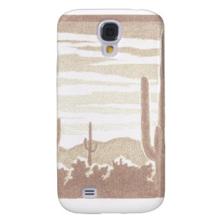 Giant Cactus Sunset Samsung S4 Case