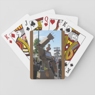 Giant Cardboard Robots Playing Cards (Set #1)