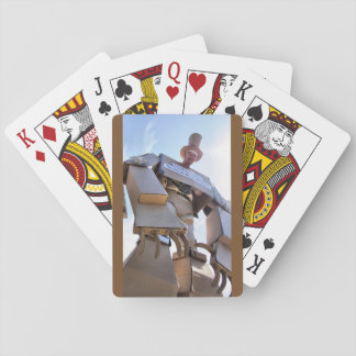Giant Cardboard Robots Playing Cards (Set #2)