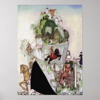 Giant Castle on a Hill Fine Art by Nielsen Print