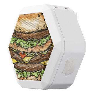 Giant Cheeseburger White Bluetooth Speaker