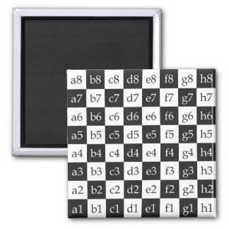 Giant Chess 2 Inch Square Magnet