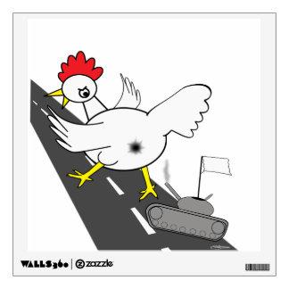 Giant Chicken! Wall Sticker