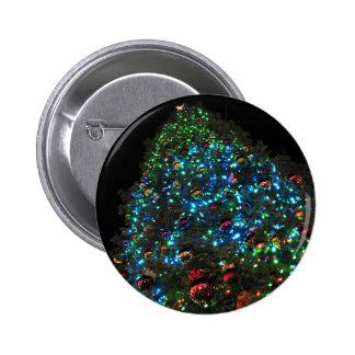 Giant Christmas Tree VII Pinback Button