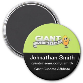 Giant Cinema Marketing Advertising Promo Magnet