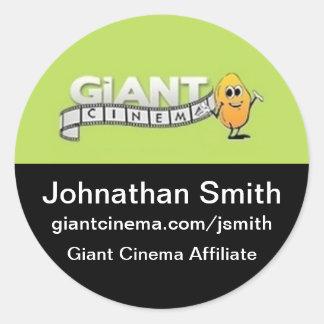 Giant Cinema Marketing Advertising Promo Sticker
