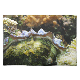 Giant Clam Cloth Placemat