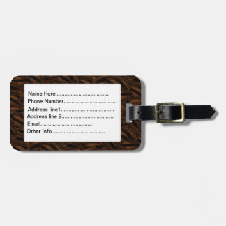 Giant Coffee Beans Luggage Tag
