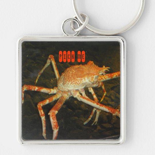 giant crab giant key chain