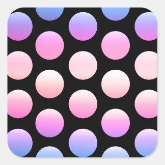 Giant Dots Square Sticker