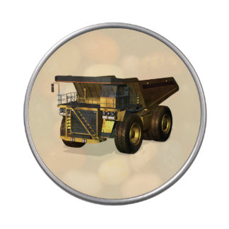 Giant Dump Truck Jelly Belly Candy Tins