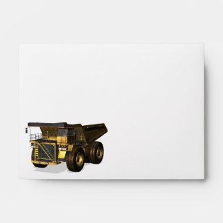 Giant Dump Truck Model Envelope